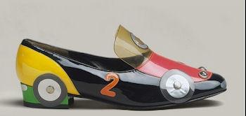 необычные автомобильные туфли