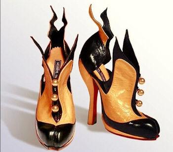 необычные ботинки