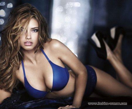 Адриана Лима в рекламе нижнего белья