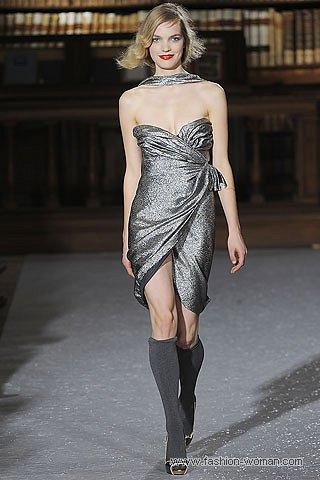 новогоднее платье-бюстье