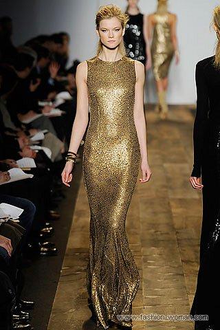 золотое платье на Новый Год 2011