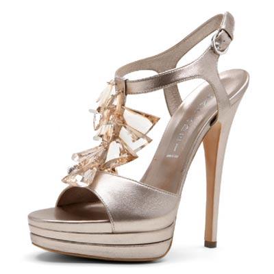 босоножки на высоком каблуке от  Casadei