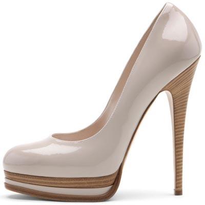 лаковые туфли от  Casadei