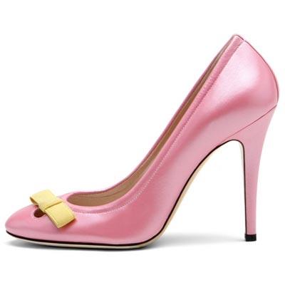 розовые туфли от  Casadei