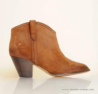 ботинки в ковбойском стиле от MANGO