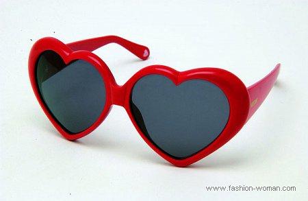 Очки-сердечки Moschino