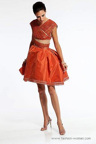 оранжевый модный цвет сезона