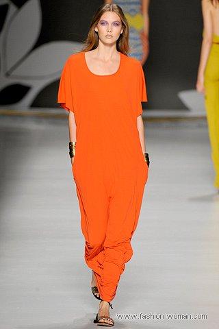 оранжевый цвет - модный цвет 2011