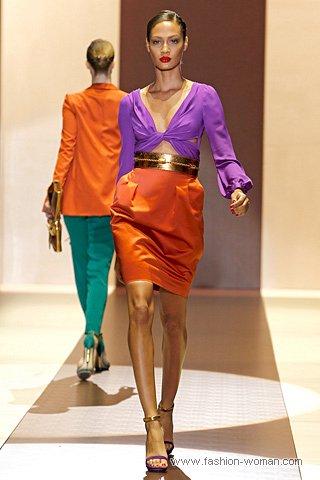 модная юбка весна-лето 2011