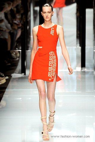 Модное платье от Версаче