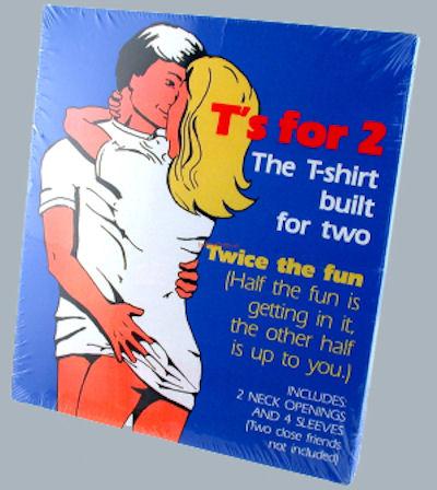 футболка для двоих