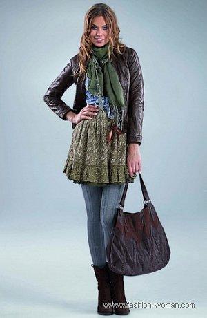 модная кожаная куртка от Orsay