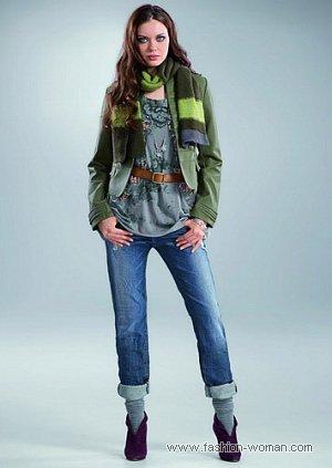 модные джинсы осень-зима 2010-2011