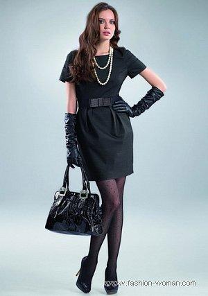 черное платье от Orsay