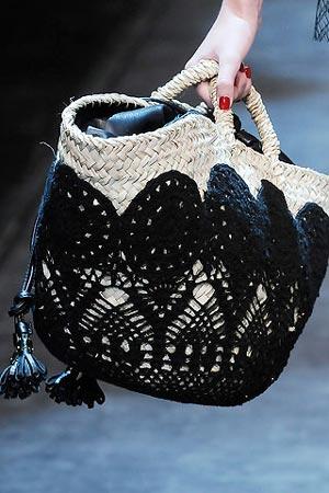 Плетеная сумка от Dolce & Gabbana