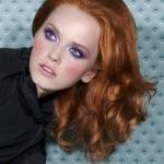 модный макияж для рыжих