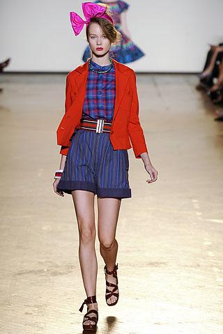 шорты с высокой талией от Marc by Marc Jacobs