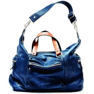 синяя сумка от Marc O-Polo