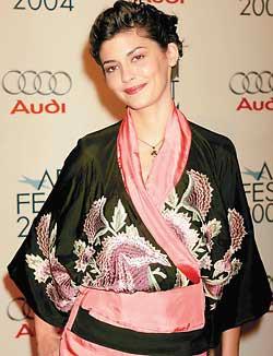 Audrey Tautou в кимано