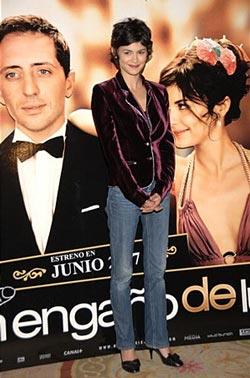 Audrey Tautou на премьере фильма