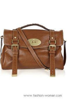 сумка-почтальона от Mulberry