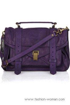 сумка-почтальона от Proenza Schouler
