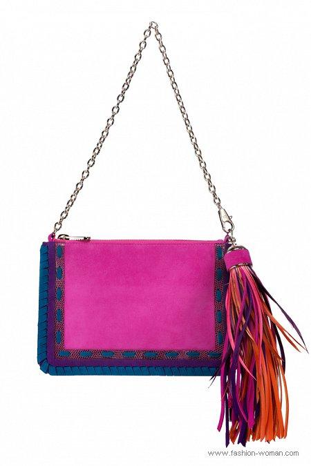 сумка на цепочке от Christian Dior