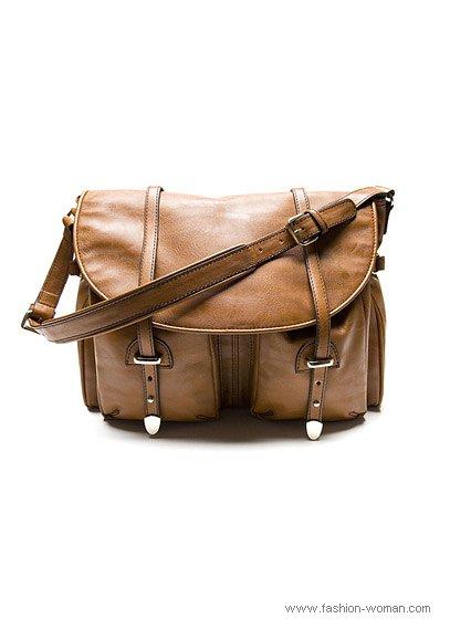 бежевая сумка от Mango