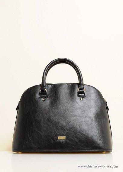 черная сумка от Mango