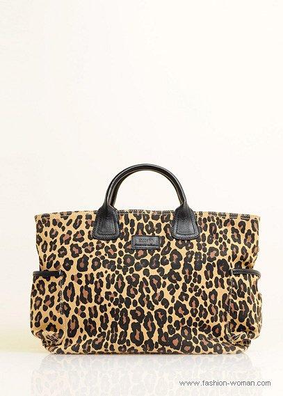 сумка с животным принтом