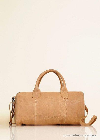 сумка-бочонок от Mango