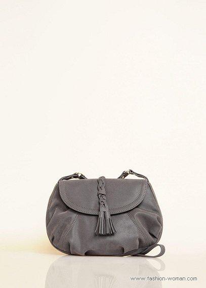оригинальная серая сумка от Mango