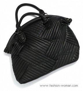 Черная сумка от  Reserved