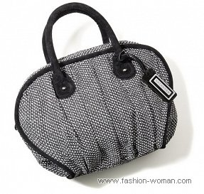 Черно-белая сумка от Reserved осень-зима 2010-2011