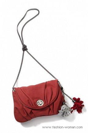 красная сумка от Reserved осень-зима 2010-2011