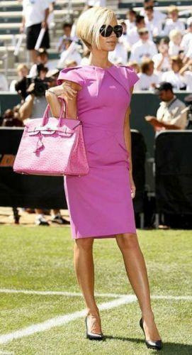 розовая сумка Birkin