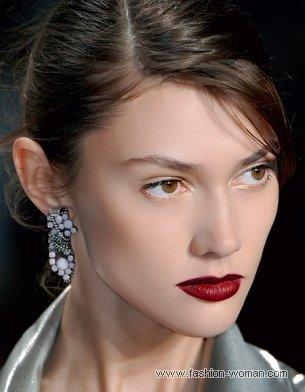Модный макияж осень-зима 2010-2011