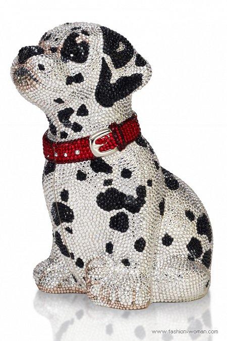 Клатч в форме собаки
