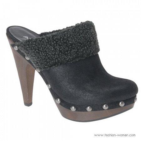 модные черные сабо от ALDO