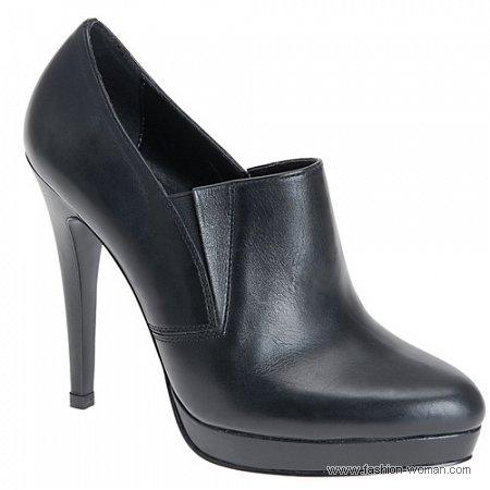 Туфли черные Алдо