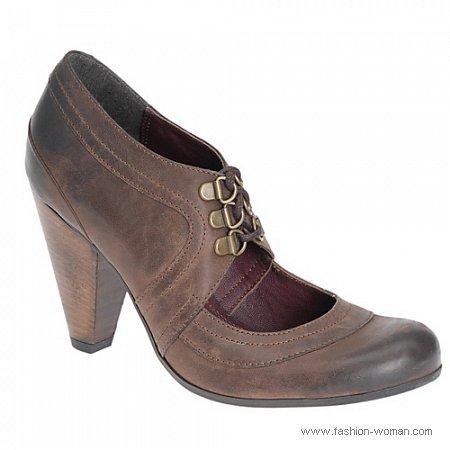 туфли в винтажном стиле от  ALDO осень-зима 2010-2011