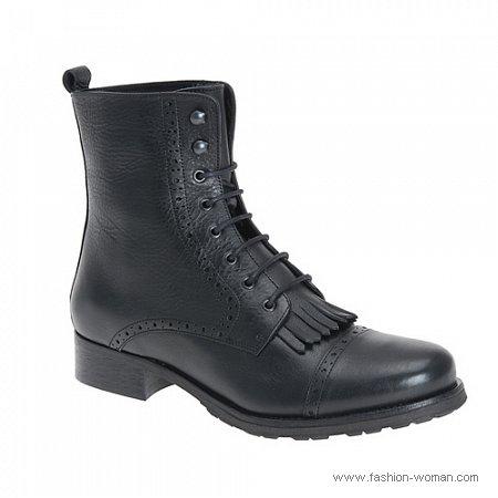 черные ботинки. ботинки на зиму от ALDO.