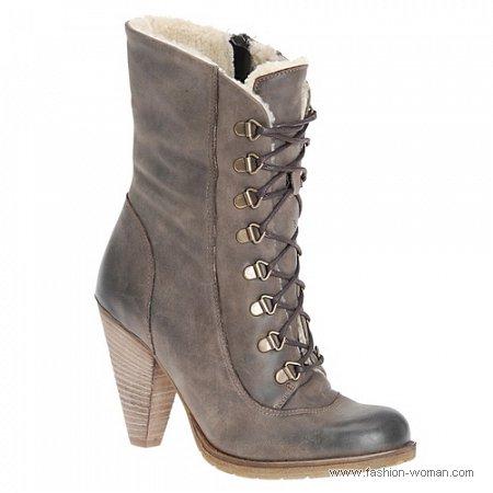 ботинки на меху от ALDO