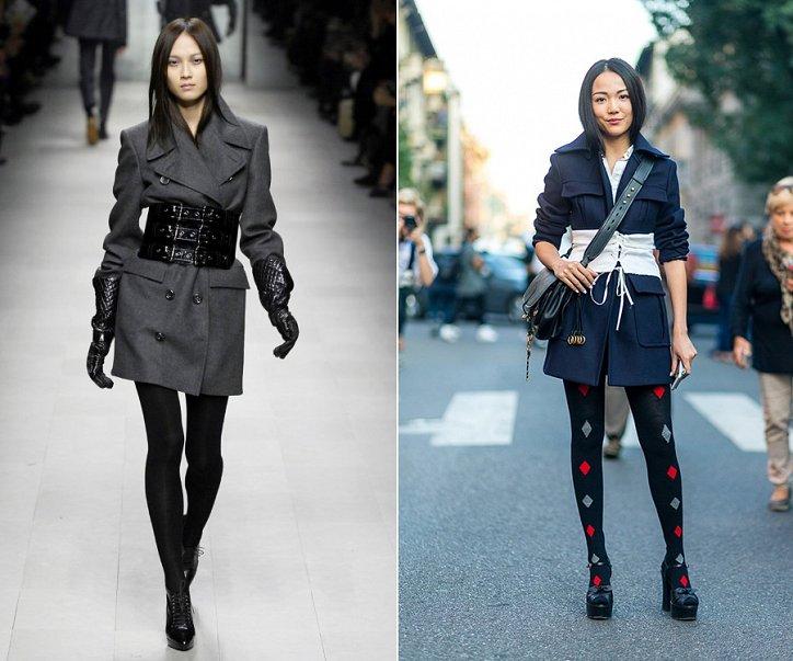 10 способов с чем носить корсетный пояс в этом сезоне фото №9
