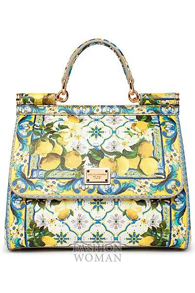 Новая коллекция сумок дольче габбана