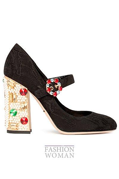вечерние туфли Dolce & Gabbana