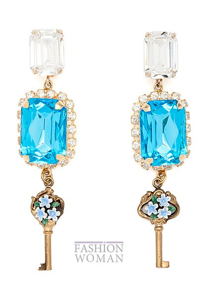 сережки  Dolce & Gabbana 2014