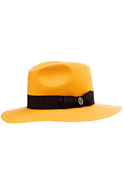 желтая шляпа фото