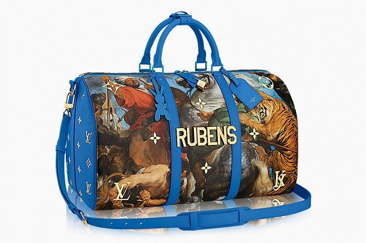Аксессуары Louis Vuitton с принтами шедевров живописи фото №6