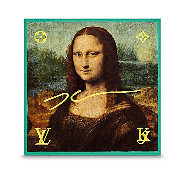 Аксессуары Louis Vuitton с принтами шедевров живописи фото №5